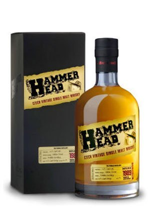 HAMMER HEAD 21 YEARS - SINGLE MALT WHISKY