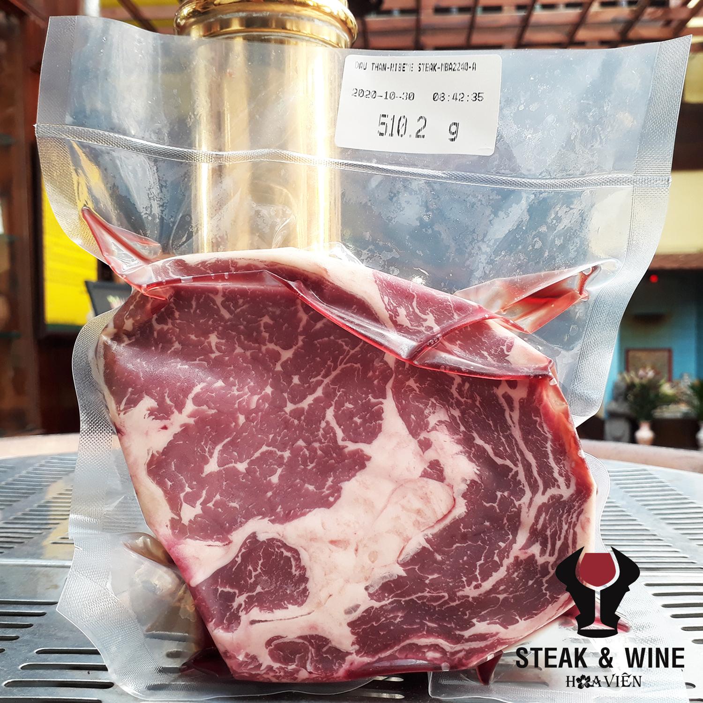 Đầu thăn ngoại bò ủ 30 ngày (Dry Aged Rib Eye Steak 30 days)